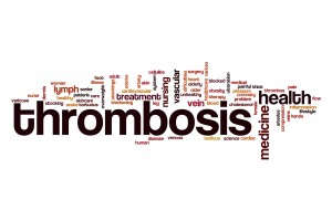 Thrombosis word cloud
