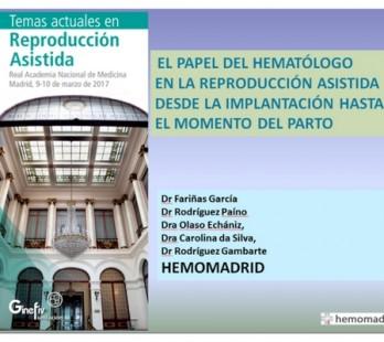 Papel del hematólogo en la reproducción asistida